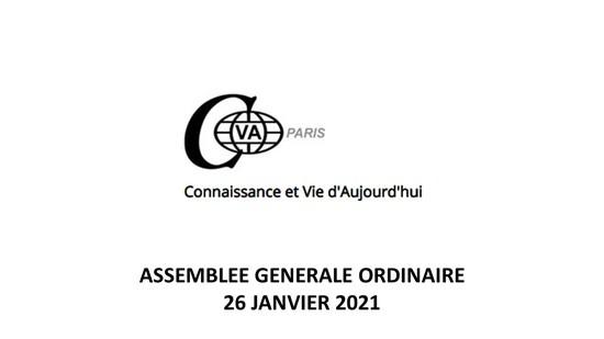 Assemblée générale 26 janvier 2021.